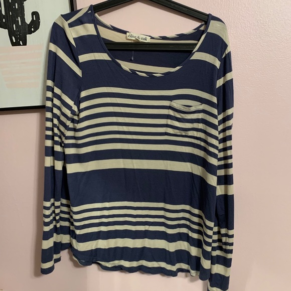olive and oak | striped long sleeve
